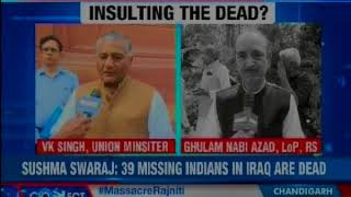 PM Modi reacts on Mosul killings; condoles death of 39 Indians - NEWSXLIVE