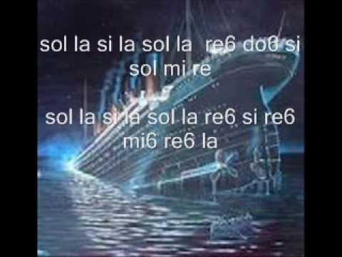 notas del titanic para flauta dulce {mas faciles }