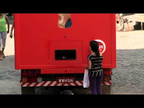 Coca-Cola Happiness Truck Brazil 30 Sec Commercial