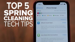 Spring-cleaning tech tips (CNET Top 5) - CNETTV