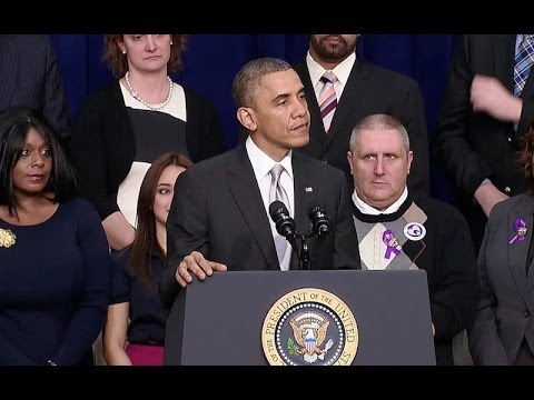 President Obama Speaks on the Affordable Care Act