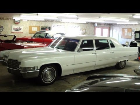 1969 Cadillac Fleetwood Limo 472 V8 Custom Pearl Paint Low Original Miles