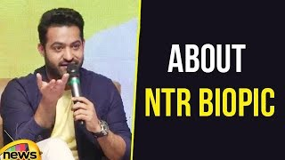 Questions and Answers With JR NTR, Spoke About NTR Bipoic | Mango News - MANGONEWS