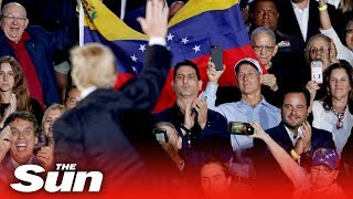 Trump's strong-worded warning to Venezuela's military - THESUNNEWSPAPER