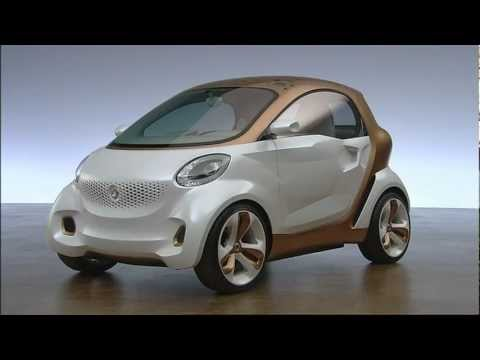 smart forvision   design exterior  IAA concept vehicle from BASF and Daimler electric vehicle EV