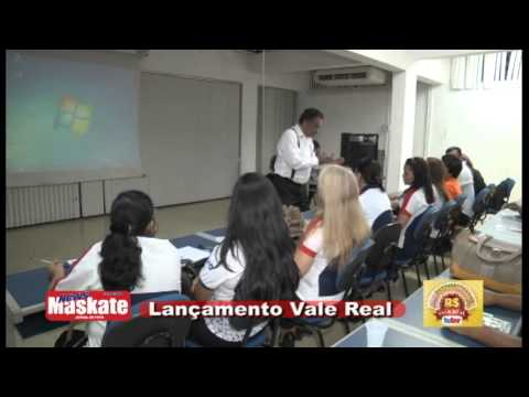 Lançamento Vale Real Jornal Maskate e TvLar