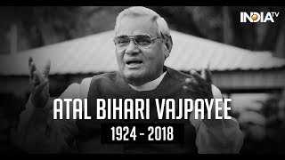 Former PM Vajpayee passes away, last rites to be performed at 5 pm tomorrow - INDIATV