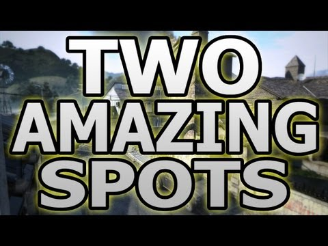 Two Amazing Spots on Standoff (Call of Duty Black Ops 2 BO2 Tips and Tricks)