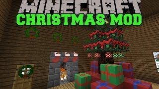 Minecraft christmas mod santa gives you presents for 9minecraft decoration mod