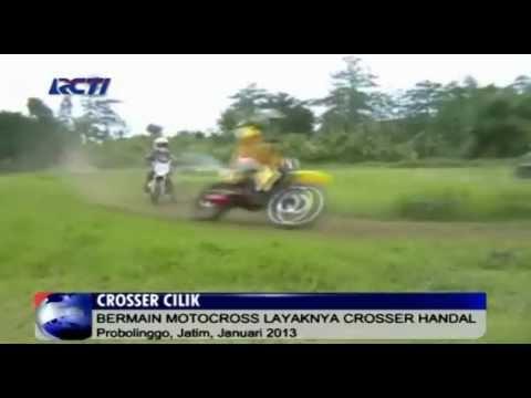 Aksi Motor Cross Crosser Anak-Anak di Indonesia