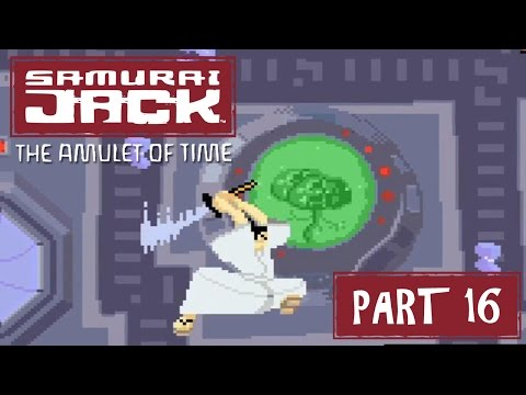 Samurai Jack: The Amulet of Time (GBA) Part 16 - VS Android Brain | Too Much Gaming