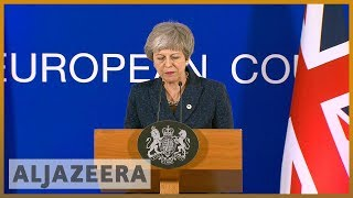🇬🇧 Theresa May gets two-week Brexit reprieve from EU l Al Jazeera English - ALJAZEERAENGLISH
