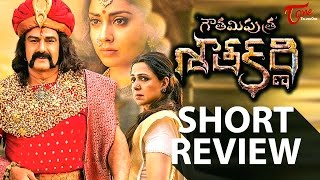 Gautamiputra Satakarni Short Review | Balakrishna, Shriya Saran, Krish | Satakarni Review | #GPSK - TELUGUONE