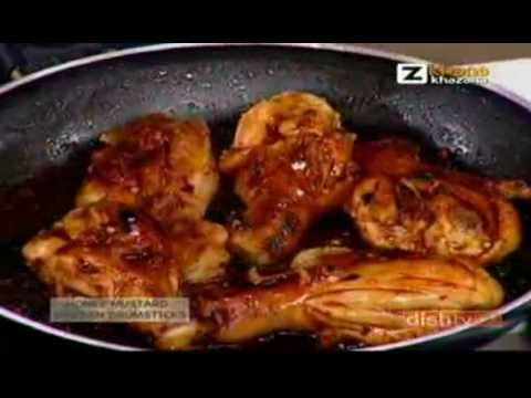 Quick Chef - Honey Mustard Chicken Drumsticks