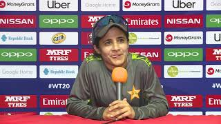 ICC Womens World T20 2018  - Pakistan captain Javeria Khan - CRICKETWORLDMEDIA