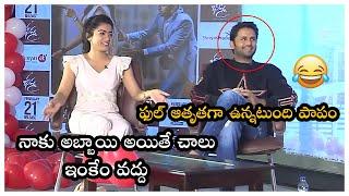 Actress Rashmika Mandanna Hilarious Fun With Nithin | Bheeshma Movie Interview | TFPC - TFPC