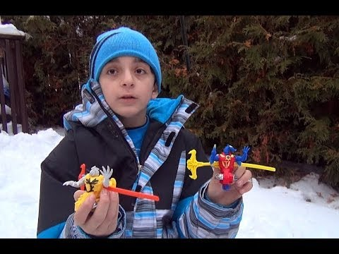Beyblade 2014 Winter Battle of the Stadiums Part 5.