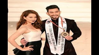 In Graphics: See how Kangana Ranaut looked during Mr. India 2017 gala - ABPNEWSTV
