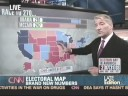 CNN changes the Electoral Map, John King's Magic Wall