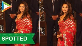 King Khan's Begum Gauri Khan at Isha Ambani And Anand Piramal's Wedding - HUNGAMA