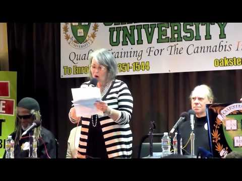 Roseanne Barr at Oaksterdam 9-27-2012