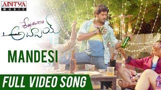 Mandesi Full video Song | Shekaram Gari Abbayi Movie | Vinnu Maddipati, Akshatha - ADITYAMUSIC