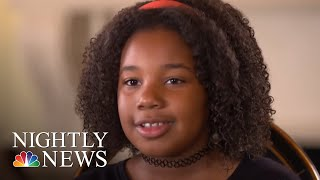 Martin Luther King Jr.'s 10-Year-Old Granddaughter Says She Has A Dream, Too | NBC Nightly News - NBCNEWS