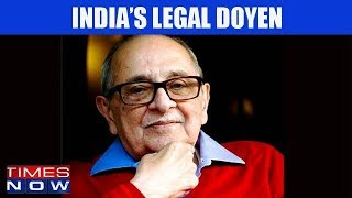 Fali Nariman Cautions The Government I India Upfront With Rahul Shivshankar - TIMESNOWONLINE