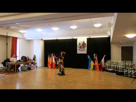 Kamila Guseynova Raqs final Adults@World Championship IDF 23 May Nadykanizsa, Hungary