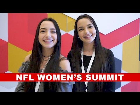 NFL Women's Summit - Merrell Twins