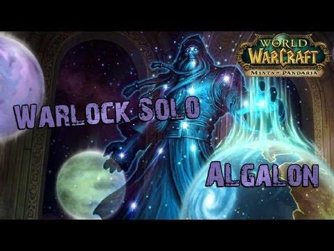 Warlock solo Algalon the Observer (Ulduar10)