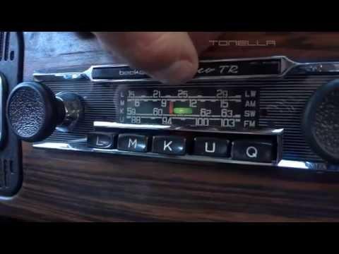 Tonella - instalação do rádio no fusca