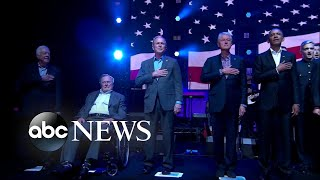5 former presidents come together for concert for hurricane relief - ABCNEWS