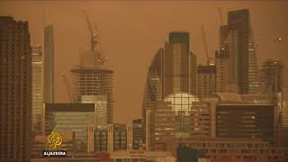London's Yellow Sky - ALJAZEERAENGLISH