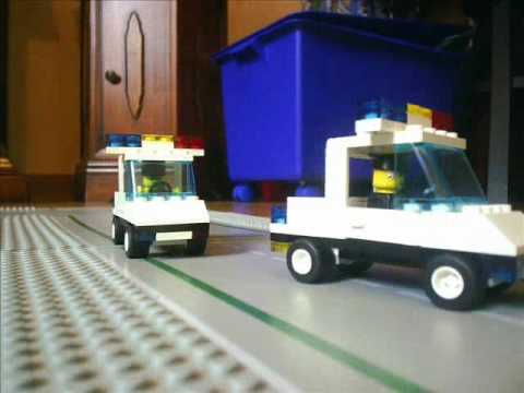 Stop Motion: LEGO Police Chase