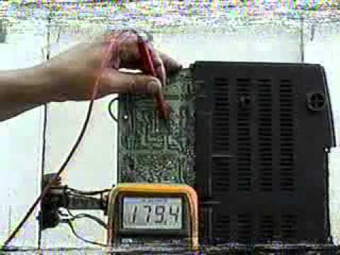 reparacion de tv .oscar  parte 2/2