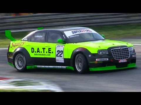 Chrysler 300C SRT8 Race Car LOUD SOUND - Monza Superstars Series 2012