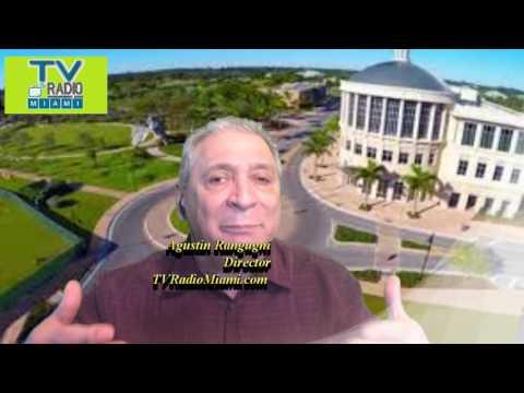 TVRadioMiami - Rafael Piñeyro, Talento joven al servicio público.