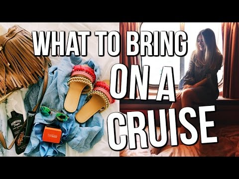 What to Bring on a Cruise