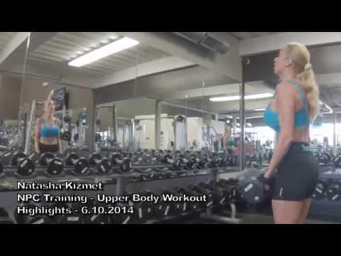 Natasha Kizmet: NPC Training Upper Body Workout 6.10.2014