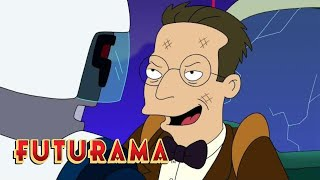 FUTURAMA | Season 8, Episode 4: Bender's First Mission | SYFY - SYFY