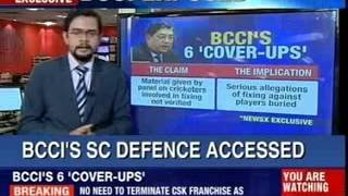 Supreme Court ruling on Mudgal report today - NEWSXLIVE