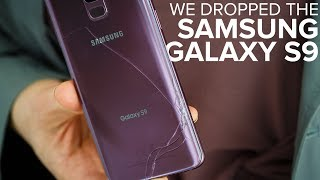 Galaxy S9 drop test: How strong is the glass? - CNETTV