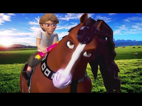 O cavalo defecado! - Steed