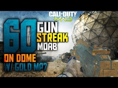 Solo'ish 60 Gunstreak w/ MP7 on Dome