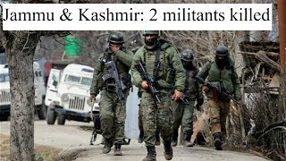 Jammu & Kashmir: 2 militants killed in encounter with forces at Bandipora district - NEWSXLIVE