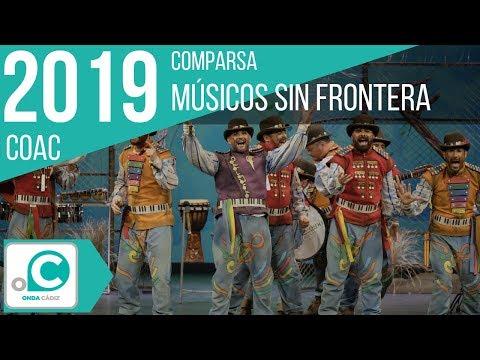 Sesión de Cuartos de final, la agrupación Músicos sin fronteras actúa hoy en la modalidad de Comparsas.