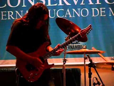 Thiago Lima - Solo de Parto ao vivo no Recife/Banda Gaia