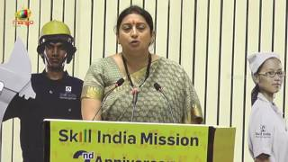 Union Minister Smriti Irani Speech at 2nd Anniversary of Skill Indian Mission | Delhi  | Mango News - MANGONEWS