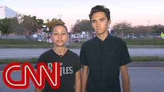 School shooting survivors demand action on gun control - CNN